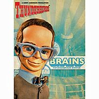Thunderbirds Brains Blech Kühlschrankmagnet Gerry Anderson (hb)
