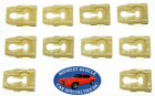 NOS Ford Torino Galaxie Ranchero Side Belt Molding Moulding Trim Clips 10pcs OR  for sale