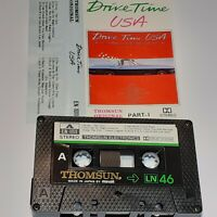 DRIVETIME USA THOMSUN IMPORT CASSETTE TAPE ALBUM CARS AMERICA GLEN FREY
