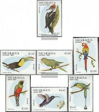 Nicaragua 2217-2223 (completa.Problema.) MNH 1981 Uccelli