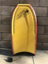 Vintage Morey Boogie Bodyboard Mach 7-SS Jay Reale With Leash