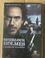 Sherlock Holmes: A Game of Shadows Robert Downey Jr. (NEW DVD, 2012) Eb11