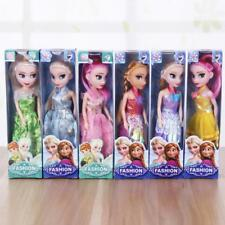 Toy 2pcs Movie Frozen Princess Figures Kids Children Baby Girl Playset Doll Toy