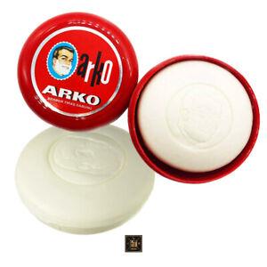 Arko Rasierseife in der Dose Shaving Soap in Bowl 90g - 1er Pack Rasierschaum