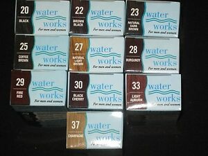 Water Works Permanent Powder Hair Color 0.21 oz Choose Colors ~ Men & Women.