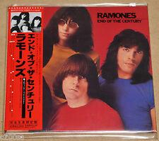 RAMONES - END OF THE CENTURY, 2007 JAPAN LIMITED MINI LP CD +7 B/T OBI, SEALED!