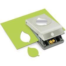 GREEN LEAF Large Slim Profile Paper Punch by EK Success