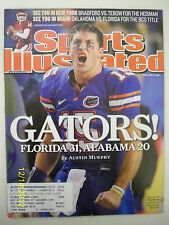 "SPORTS ILLUSTRATED - ""GATORS! FLORIDA 31, ALABAMA 20"" - DECEMBER 15, 2008"