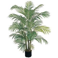 4 ft ARECA PALM Silk Artificial Tropical Fake Plant