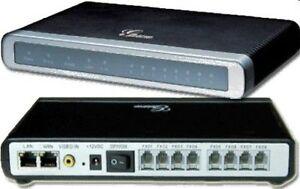 Grandstream GXW4108 8 FXO Desktop Analog PSTN VoIP Gateway