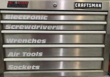 Garage Tool Box Custom Labels 10 Custom Made Labels of your choice Any Font