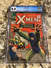 X-MEN #14 CGC 8.0 OW PAGES 1ST APPEARANCE OF THE SENTINELS HI END HOT MCU MOVIE