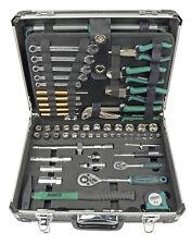 Brüder Mannesmann Werkzeuge 160 Teilig Werkzeugkoffer Wasserwaage Säge Zange