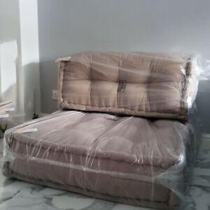 Urban Outfitters Reema Floor & Back Cushion Sofa Chair Seat