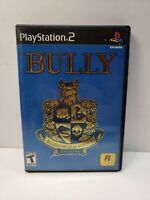 Bully (Sony PlayStation 2, 2006) No Manual Mint Disc TESTED