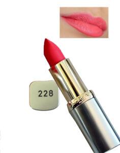 l'oreal color riche lipstick 228 vip