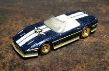 Hot Wheels Custom Corvette Final Run blue loose