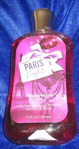 Bath & Bodyworks 'PARIS NIGHTS' Shower Gel 10.oz./295ml
