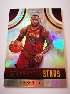 Panini Essentials 2017-18 card carte NBA Basketball Cleveland ES-1 Lebron James