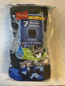 Value Pack Hanes Tagless Comfortsoft Boxer Briefs Boy's Size L/G 14-16