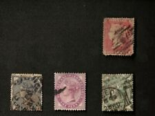 Great Britain Mixed Lot of 4 Stamps, Sc# 18, 89