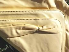 Retro Clutch Pacific Connections- Yellow-Vintage Cutch, New