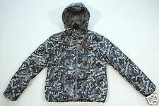 NUOVO tutto star converse donna piumino inverno giacca con cappuccio tg. M