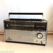 VINTAGE 1970's Grundig Yacht Boy 210 FM / SW / MW / LW RADIO-Black Versione gwo