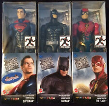 """DC Comics Justice League Stealth Suit BATMAN SUPERMAN FLASH 12"""" 3 LOT Action NEW"""