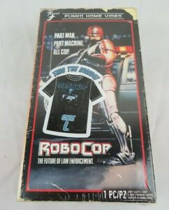 NEW Funko Home Video Robocop T-Shirt VHS Size LARGE Target Exclusive 80s Style