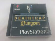 Ian Livingstones Deathtrap Dungeon Sony PlayStation 1 1998 PS1 PAL Spiel Game