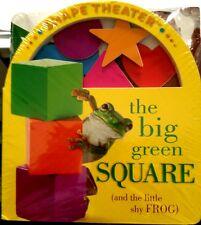 The Big Green Square & One Little Brown Seed Shape and Number Theater Board Book