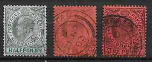 Gibraltar 1903 selection used