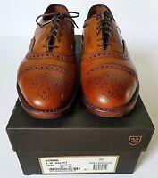 Allen Edmonds Strand Walnut Captoe Oxford Shoes Size 8 (3E)