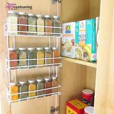3 Tier Wall Mounted Spice Rack Holder Storage Shelf Kitchen Cabinet Organizer