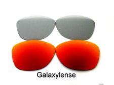 Galaxy Lentes De Repuesto Para Oakley Frogskins gafas de sol rojo y gris