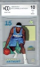 2003-04 E-X Carmelo Anthony Fleer/Skybox Rookie BCCG 10