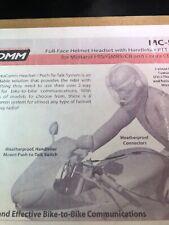 Motocomm MC-551 Helmet Headset & PTT System FRS GMRS CB COBRA RADIOS Push To Tlk
