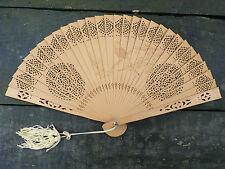 Eventail fin 19ème / 1900 ART NOUVEAU siècle fan ventiglio facher