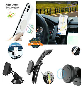 Magnetic Phone Car Mount Holder for Dashboard with Strong Magnet 360° Rotation