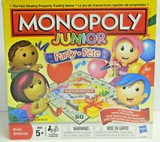 MONOPOLY JUNIOR Party by Hasbro Brand New SEALED Fun Games for Kids - 2011//