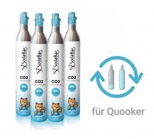 CO2-Zylinder Tausch-Box für Quooker 4 x 425g (60 l)