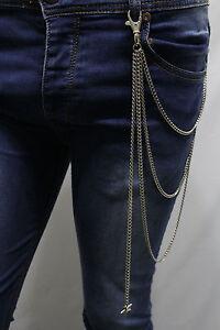 Women Long Metal Wallet Silver Chain KeyChain Strand Long Fringes Falling Star