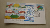 1988 AUSTRALIA BICENTENARY WORLD EXPO COVER, SINGAPORE PAVILION EXPO CACHET