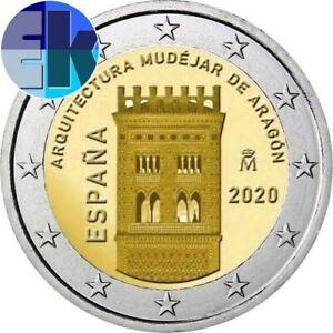 Ek // 2 euro Espagne 2020 Arquitecture Mudéjar Aragón
