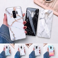 For Samsung Note 10 S20 S9 A51 A71 A20S Marble Pattern Soft Silicone Cover Case