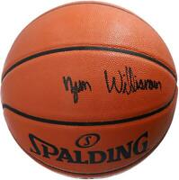 Zion Williamson New Orleans Pelicans Signed Spalding Basketball - Black Ink