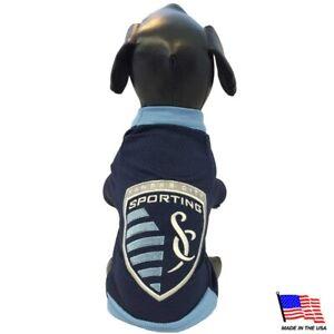 Sporting KC MLS All Star Dogs Premium Pet Jersey USA Made Sizes XXS-XXL