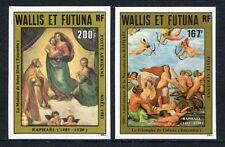 WALLIS & FUTUNA 1983 Gemälde Raffael Paintings Sixt Madonna ** Ungez. ND KW €35