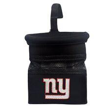 Brad New NFL New York Giants Embroidered Black Car Caddy Organizer